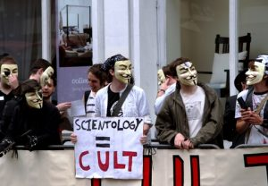 Protest against Scientology (© Charlotte Leaper | Dreamstime.com).